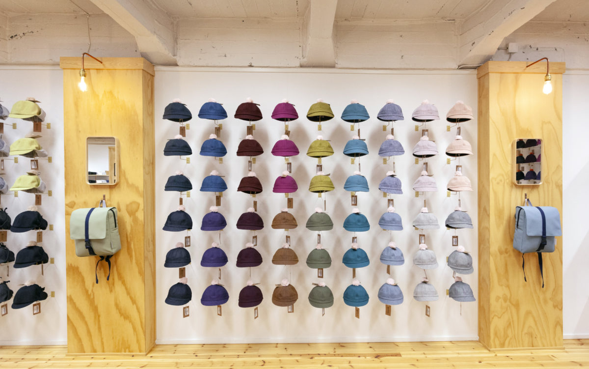 The wall of hats