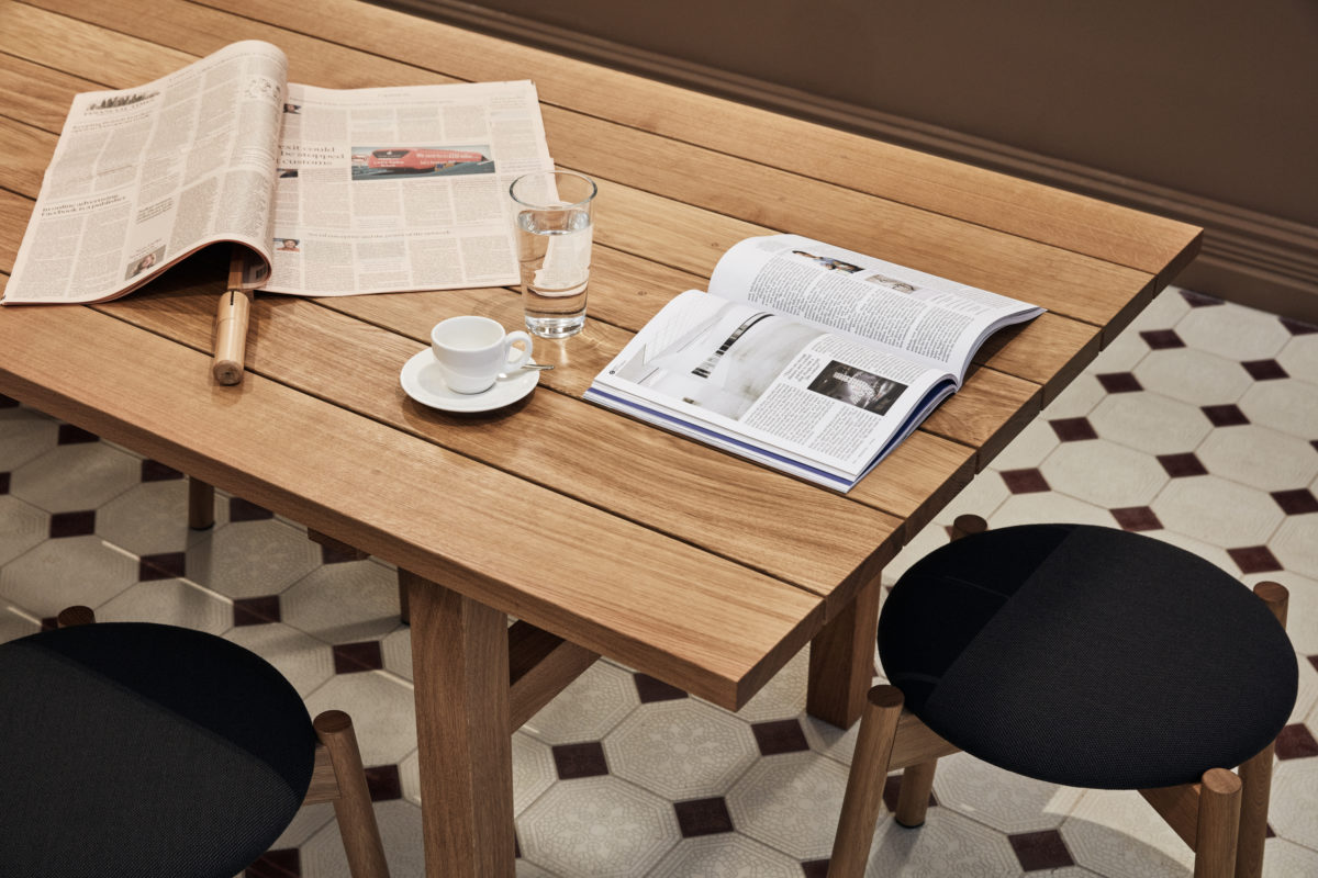 At St. George Bakery you'll find a reading room and the first Monocle Shop in the Nordics.